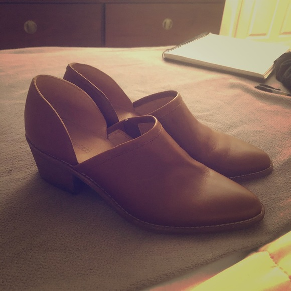 Madewell Shoes - Madewell Booties *reserved*